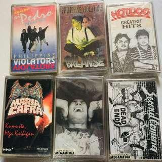 Rare Opm Cassette Tapes.