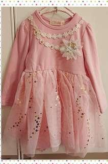 🚚 女童長袖洋裝