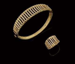 Openable bracelet with ring size 8 & 9