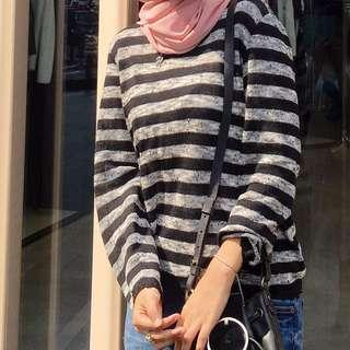 Stripe Knitted Top/Sweater