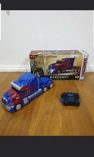 brand new in box transformer optimus prime remote control car wireless xmas christmas toy optimusprime