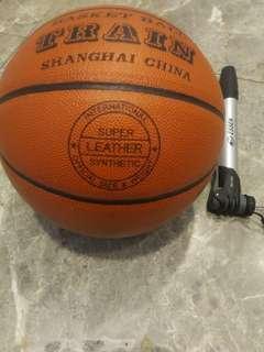 Super leather TRAIN basket ball