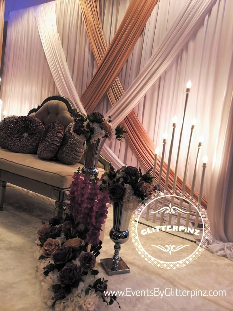 Wedding decor and catering package