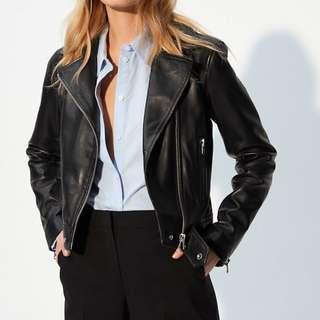 Wilfred Free Hendrix Leather Biker Jacket