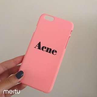 Acne phone case iPhone 6/6s