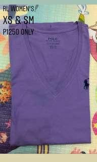 Polo Ralph Lauren Women's Pony Logo V-Neck T-Shirt