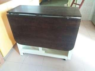 Sturdy Wooden Foldable Table
