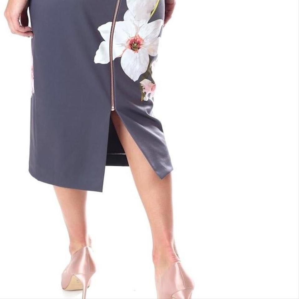 72b10939 100% authentic New Ted Baker Grey Bisslee Chatsworth Bodycon ...