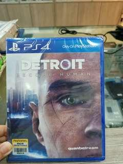 Ps4 Detroit (R3) new & sealed