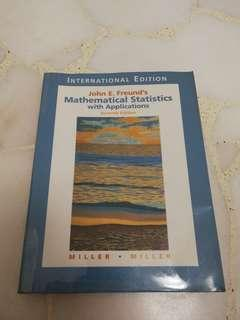 🚚 Mathematical Statistics with Applications