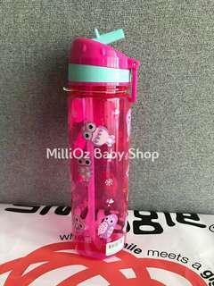 💯 ORIGINAL(READY STOCK) Smiggle Drink Up Bottle 650ml PINK OWL