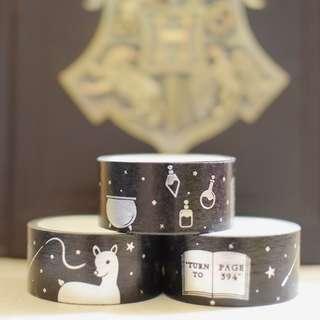 Harry Potter Silver Foil Washi Tape