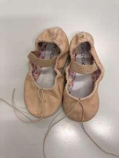 Pink Ballet shoes. 16cm. Hardly used.