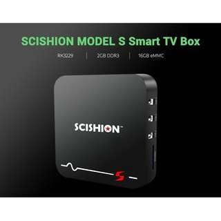 SCISHION MODEL S RK3229 4K TV Box 2GB / 16GB Smart