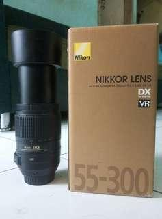 LENSA NIKOR 55-300MM VR
