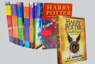 Harry Potter Books 1-8