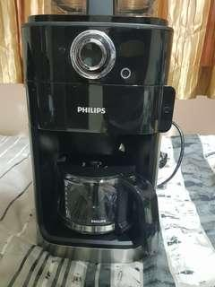 🚚 Philips Grind & Brew Coffee maker