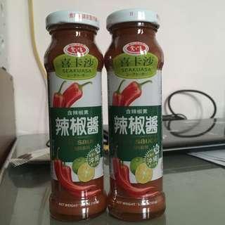 🚚 愛之味辣椒醬