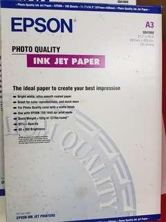 Epson Photo Quality Ink Jet Paper