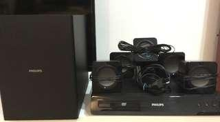 Philips 5.1 home theater system