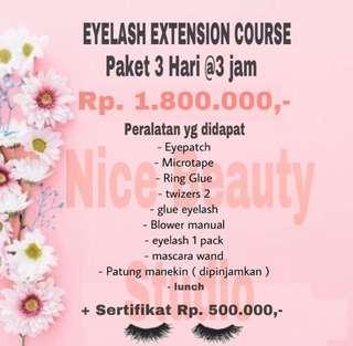 Kursus eyelash extension