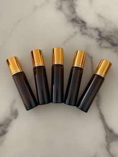 Glass Roller Bottles 10ml for essential oil