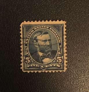 Stamp - USA 1898 - Ulysses S Grant 5 Cents