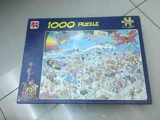 🚚 1000片拼圖🧩-Jumbo JAN VAN HAASTEREN