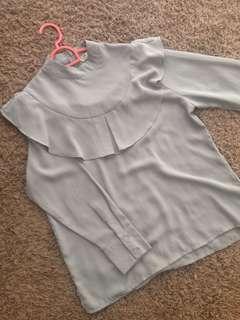 T zed top blouse