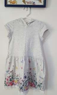 Slighly Used H&M Kiddie Dress w/ Hoodies