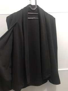 Black Cape Blazer