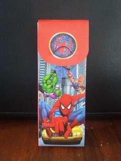 Kotak Pensil Plastik Spiderman