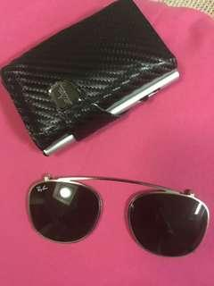 Rayban sunGlasses clip on Original -Rare item