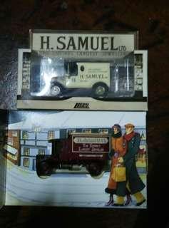 England Lledo Days Gone Diecast H. Samuel The Empire's Largest Jeweller Vintage