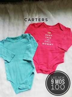 Take All 9 months onesies for baby girl