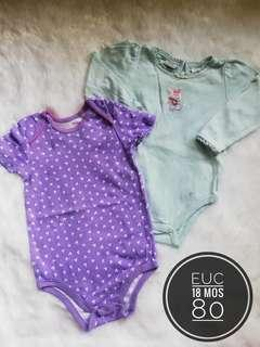 Take All 18 months onesies for baby girl