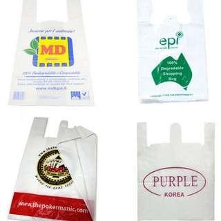 Custom Made T Shirt Plastic Bags Supplier Malaysia