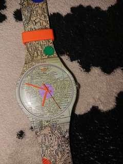 Swatch this is my map