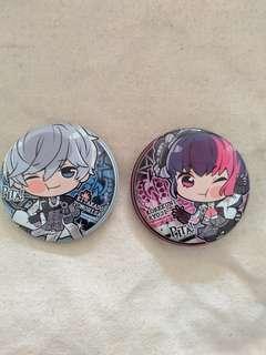 B project Kitakore badge set