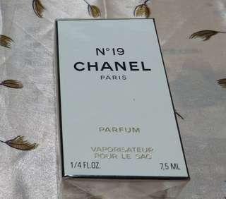 Chanel n19 噴式 純香精7.5ml