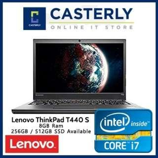 🚚 Refurbished Lenovo Thinkpad T440S / Intel Core i7 / 8GB RAM / 128GB SSD / Windows 8 / One Month Warranty