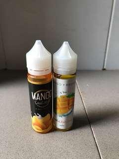 Liquid Vape mango custard 60ml 3 mg premium liquid