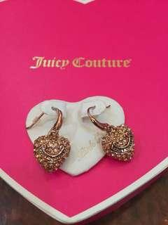 Juicy couture heart earring