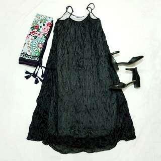 ☇LP☇Black Maxi Dress