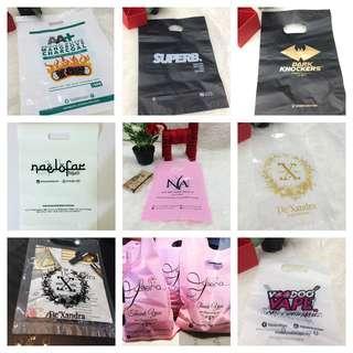 Custom Printed Die Cut Plastic Bag Supplier Malaysia