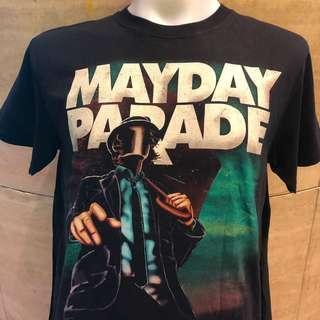 🚚 Mayday parade rock t shirt MP