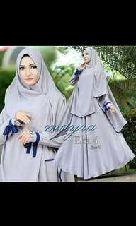 Baju muslim syari wanita promo lebaran diskon 2 set 5persen