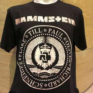 🚚 Rammstein rock t shirt