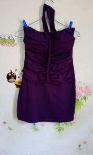 Mini Dress Purple
