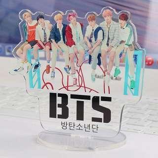 BTS Display Group Standee Model Acrylic